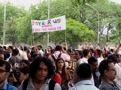 Delhi gay pride, June 2009