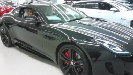 Kal Sabir in a car by Jaguar