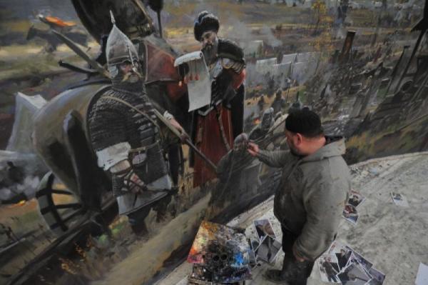 Музей-диорама «Великое стояние на реке Угре». Дзержинский ...