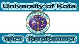 Kota University Time Table 2018, uok.ac.in BA, BSC, BCOM Exam Time table