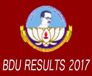 BDU Result April 2017-18