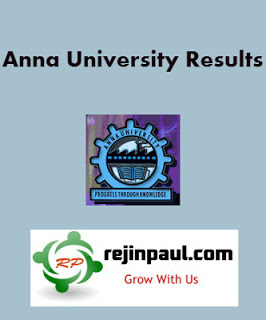 Anna University Results 2018 May June 2018 UG PG 2nd 4th 6th 8th Semester