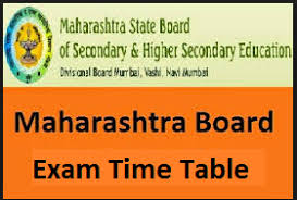 Maharashtra Board Ssc Time Table 2016 Pdf