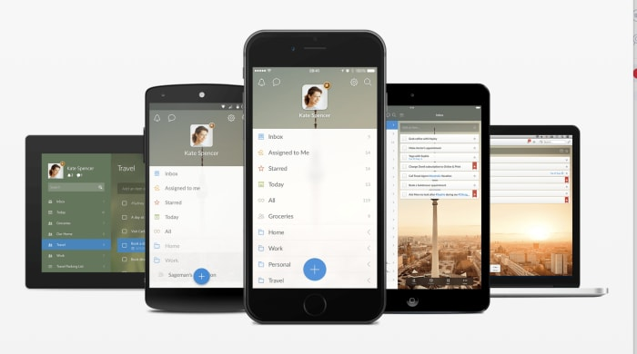 Wunderlist multiple devices