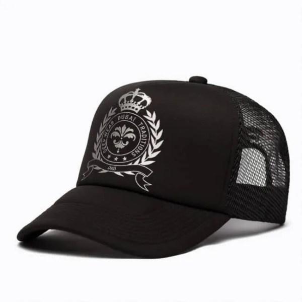 Kalybre Black & Silver Basecap