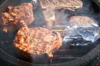 Kamado roštilji odlični su za pripremu stekova