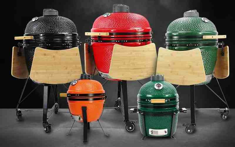 Roštilji Kamado Madness na ugljen dolaze u raznim veličinama - roštilj, smoker, krušna i pizza peć, direktno i indirektno pečenje