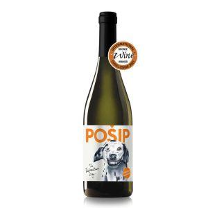 Dalmatian dog Pošip, bijelo vino s pedigreom s otoka Korčule i IWC nagradom