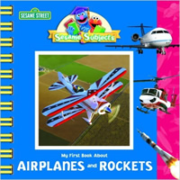 Book cover: My First Book About Airplanes and Rockets