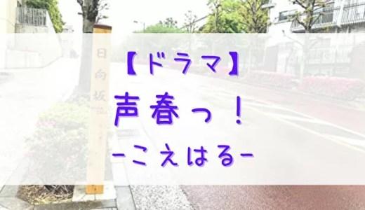【日向坂46】深夜ドラマ「声春っ!」(こえはる)放送決定!グッズ等の展開も準備中