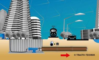 Diagrama del funcionamiento de BADGER en una obra urbana. Imagen cedida por la UC3M.