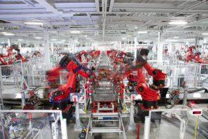 Fabrica de TESLA en Fremont, California (EE.UU.)/Imagen cedida por la compañia/EFE/TESLA MOTORS