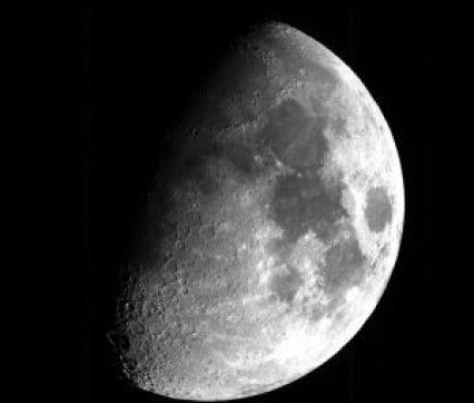 La Luna fotografiada por el satélite francés de observación de la Tierra Pléyades. Crédito: CNES