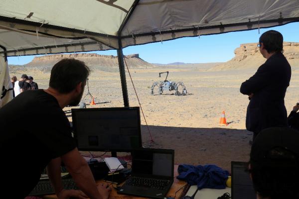 Marte también comienza en los desiertos de Marruecos