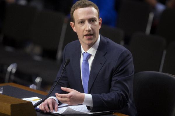 """El CEO de Facebook, Mark Zuckerberg, testifica ante el Comité Senatorial de Comercio, Ciencia y Transporte y la audiencia conjunta del Comité Judicial del Senado, sobre """"Facebook, la privacidad de las redes sociales, y el uso y abuso de datos"""