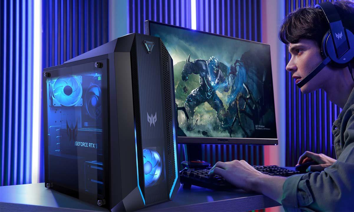 Acer actualiza sus ordenadores de sobremesa gaming Predator Orion y Nitro