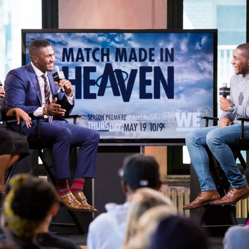 Sherri Shepherd and Stevie Baggs talk about their new show Match Made in Heaven with TV host Kamaron Leach.