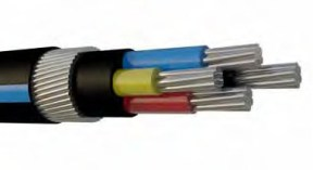 ALUMINIUM LOW HALOGEN (LHC) ARMOURED CABLE 600_1000V