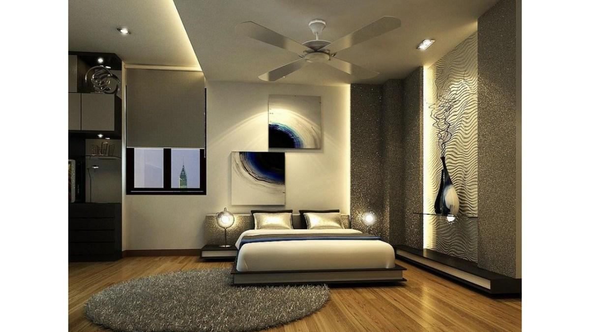 Kamar Tidur Modern Artistik