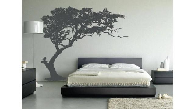 Kamar tidur unik dekorasi pohon
