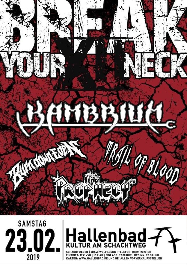 break your neck flyer