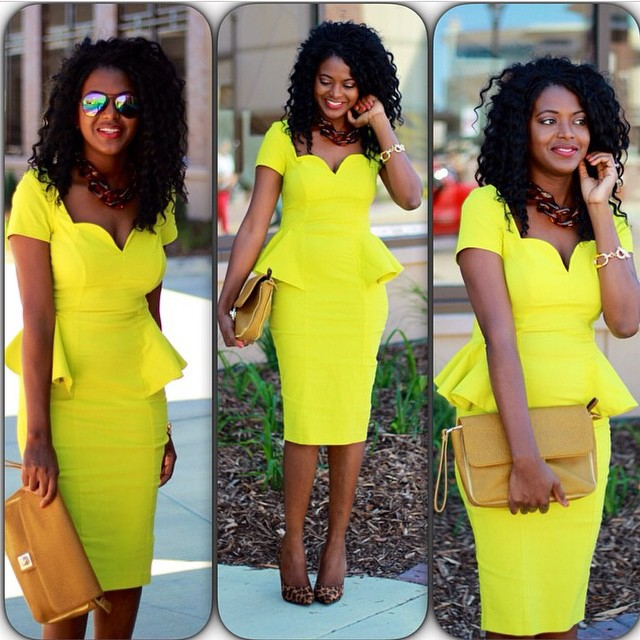 Style 2: @chicly_yours Corporate Drapes #13