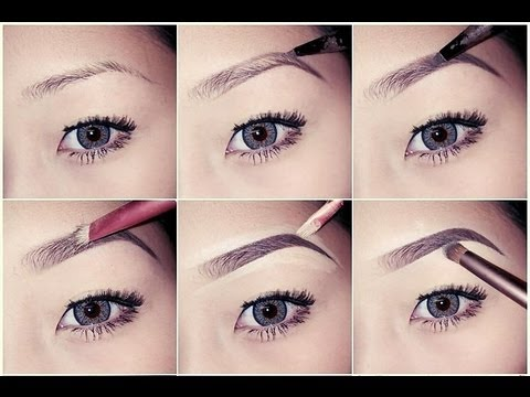 how to draw brows