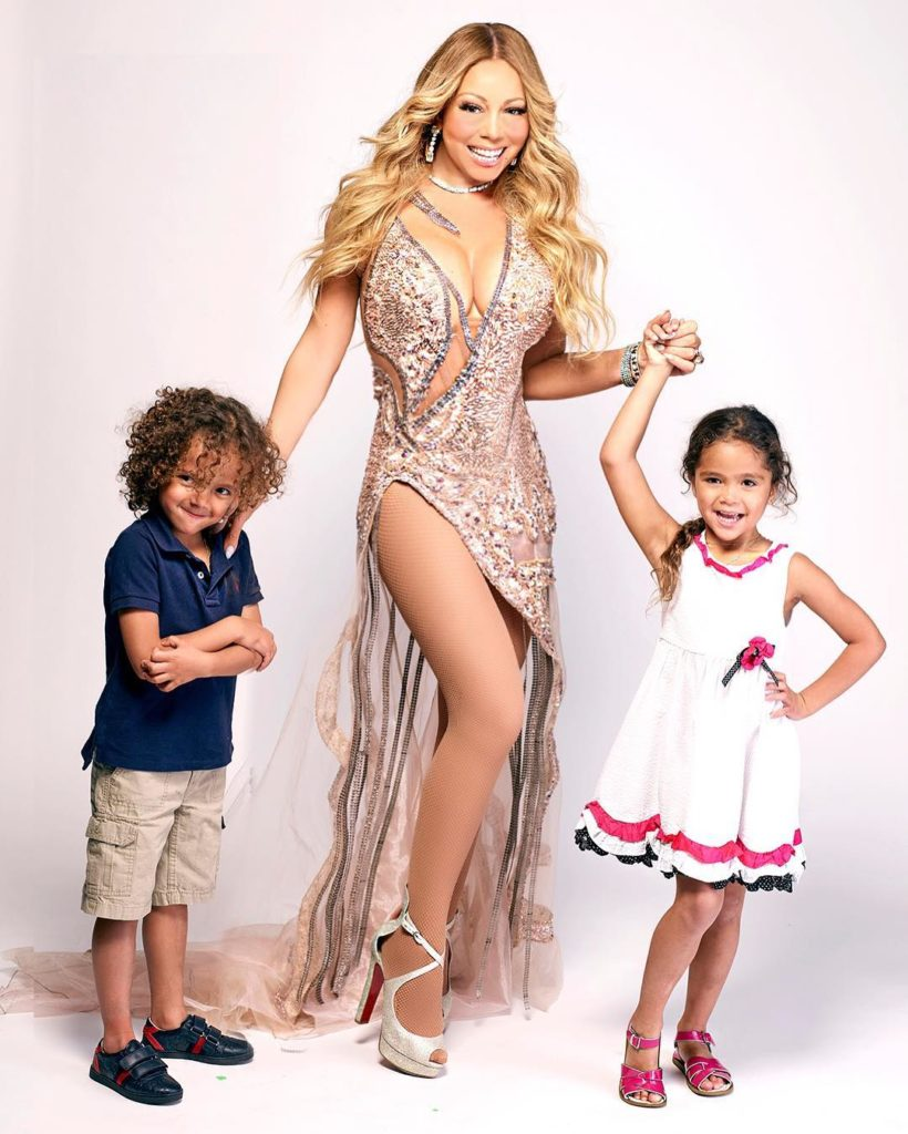 Heart Warming Photo of Mariah Carey and her Kids