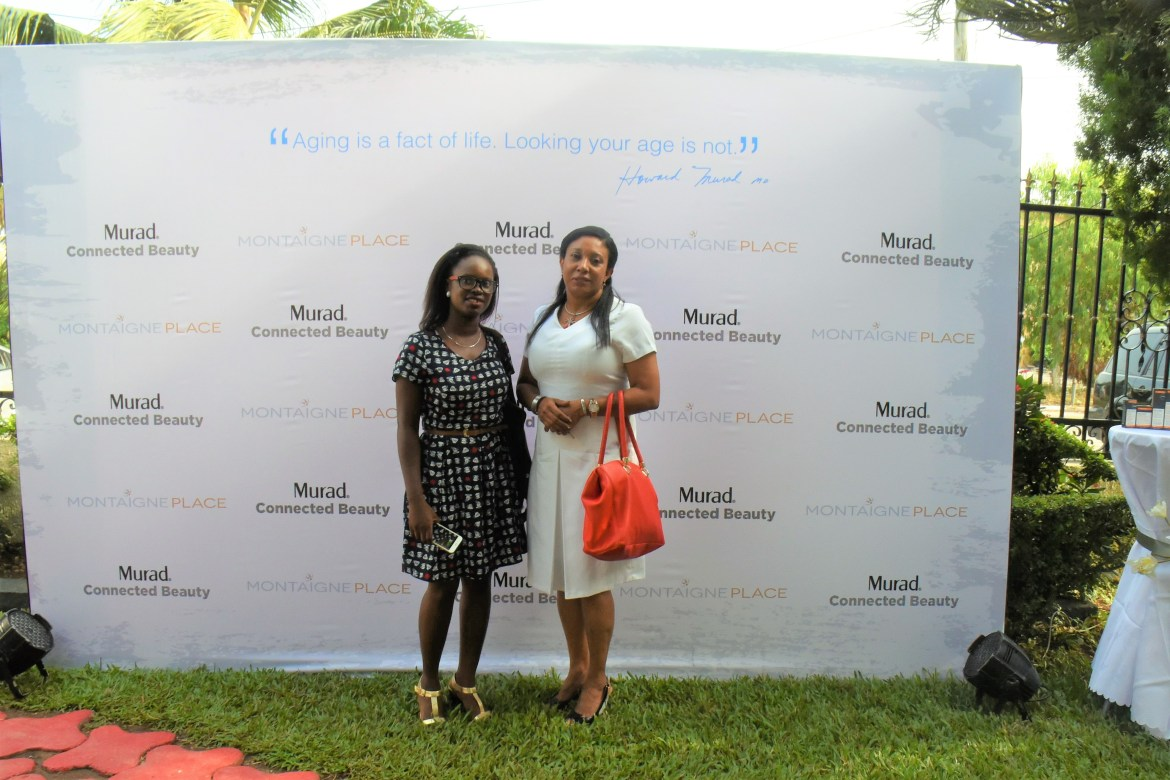 From Left: Dr. Ayesha Akinkugbe & Friend