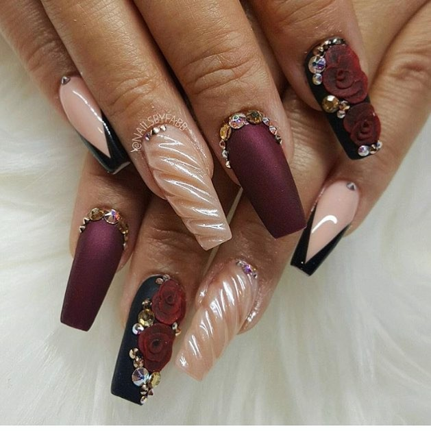 17 Gorgeous Wedding Nails Art Perfect For The Big Day Kamdora
