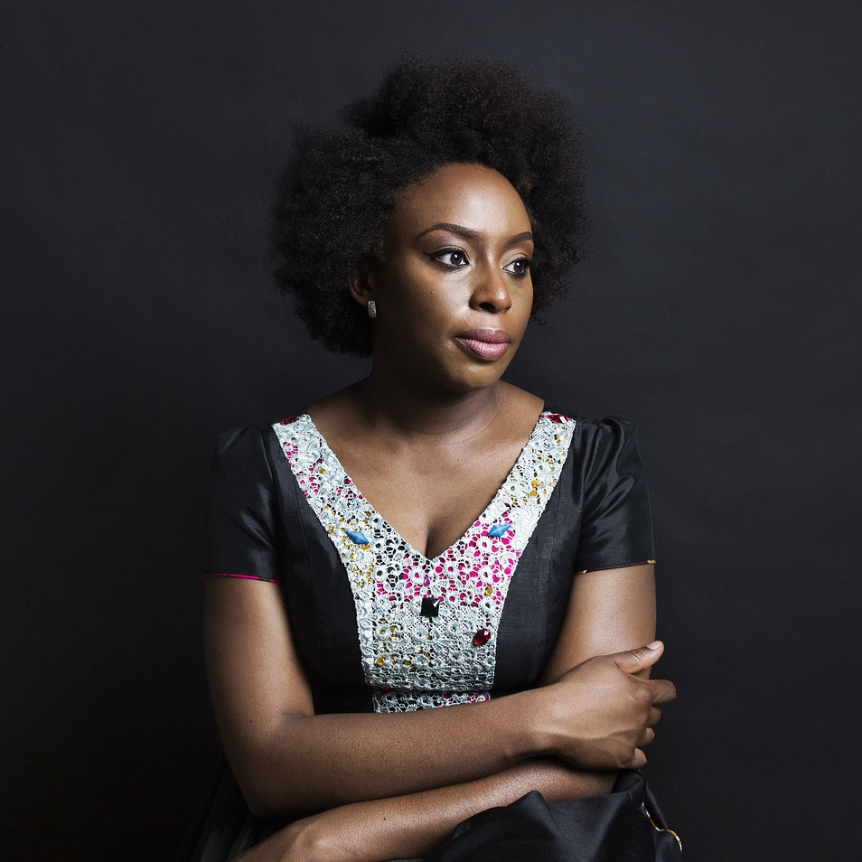 Chimamanda Ngozi Adichie Natural Hair 2