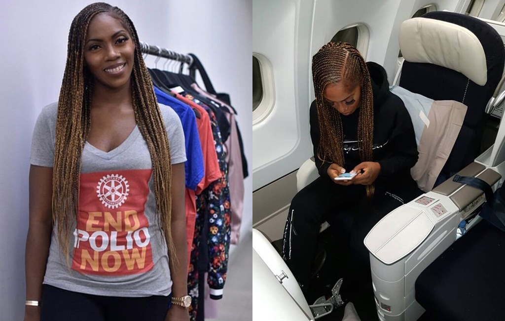 Isnt Tiwa Savage Just Cute In This Side Swept Braids
