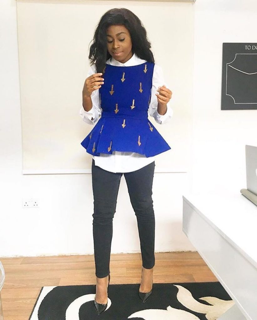 How to wear colour blue on kamdora (4)
