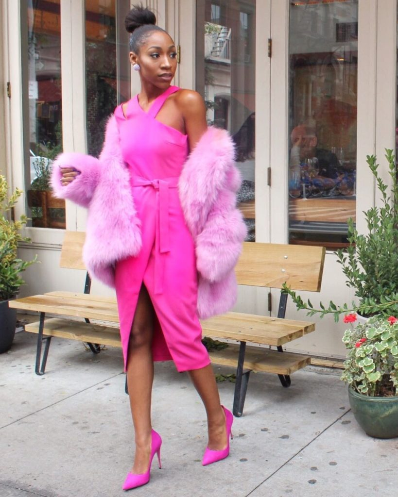 Monochromatic Style done right - Chinyere The Real Chi 1