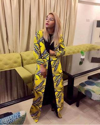 Lola Oj gives us another angle to style the Ankara jacket.