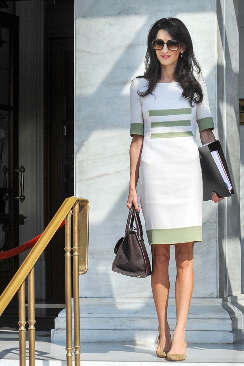 Amal Clooney does work style perfectly 12