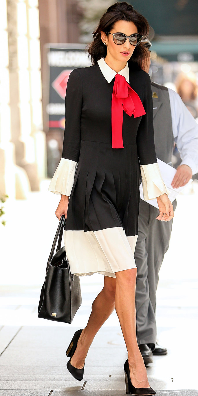 Amal Clooney does work style perfectly 13