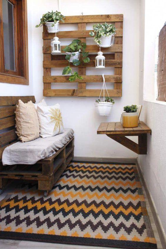pallet meubels balkon