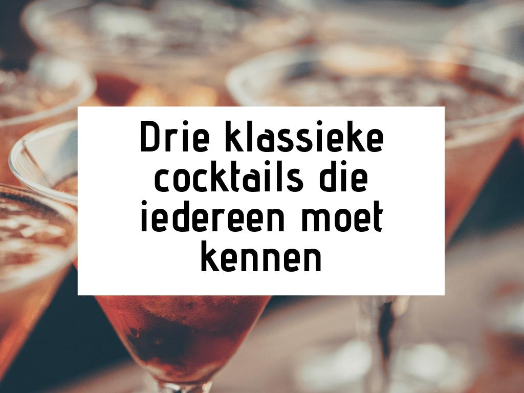 hoe maak ik cocktails