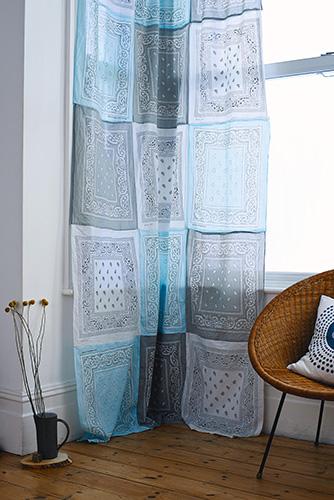 patchwork gordijnen sjaals