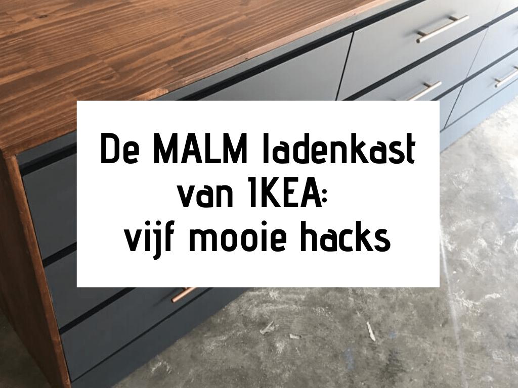 Zwart Leren Bank Ikea.Ikea Malm Ladenkast Makeover Vijf Mooie Hacks Kamer Nl
