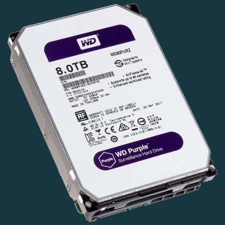 Western Digital Purple Güvenlik Kamerası Harddiski