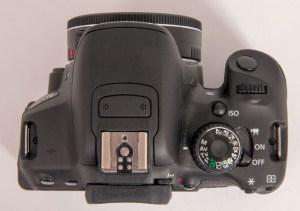Selv om Canon EOS 650D byr på fingerstyring, kan de fleste innstillinger gjøres på tradisjonelt vis også, om man ønsker det.