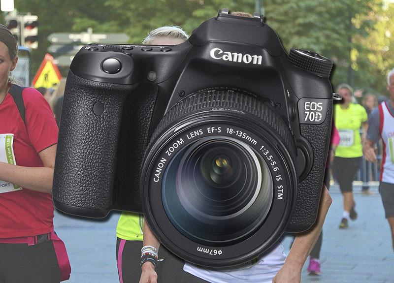 MARATON: PC World testet Canon EOS 70D under Oslo Maraton i høst. Resultatet ble mange bra bilder og gode videoopptak.