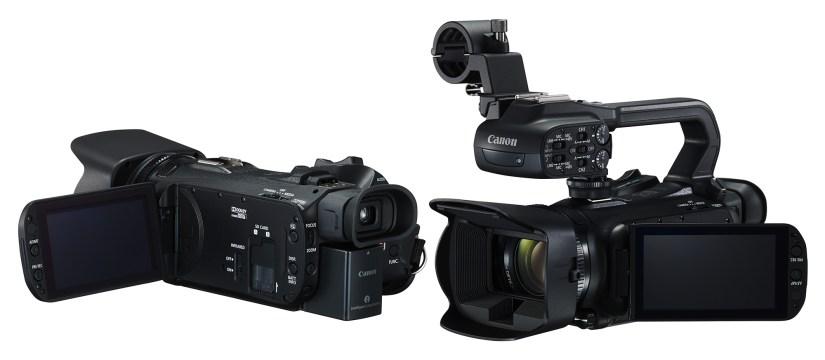 PROFESJONELT: Canon XA30 (til venstre) og XA35 er myntet på blant annet bedriftsmarkedet. (Foto: Canon)