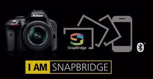 BLUETOOTH: Nikons SnapBridge-logo. (Ill.: Nikon)