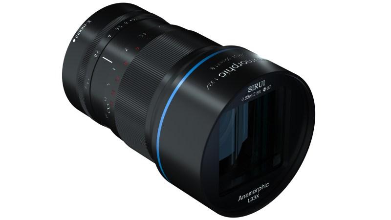 Sirui 50mm f/1.8 1.33x Anamorphic Lens