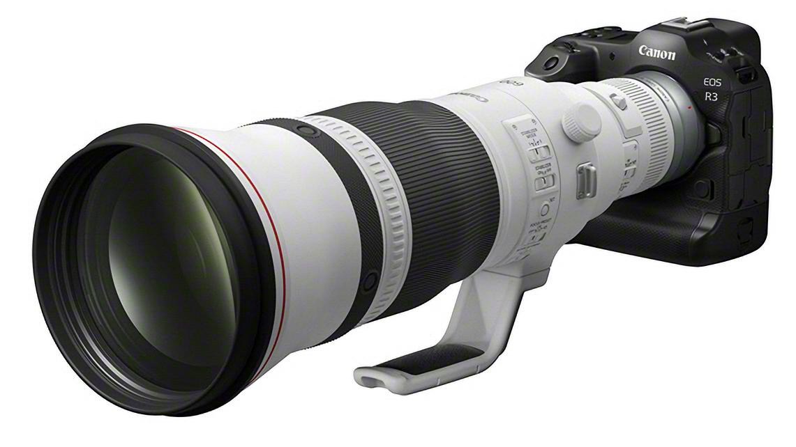 EOS R3-DA2_frontSlant_RF 600mm F4 L IS USM-Forbedret
