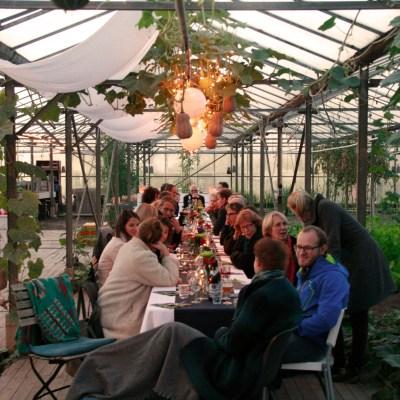 JIP7 tijdens het dinerconcert in de Kas - Utrecht