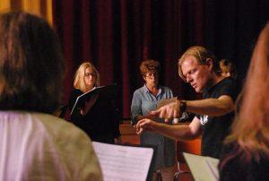 Kamerkoor Lux, Stemning, Scandinavisch concert, nazomeren, Raoul Boesten